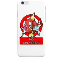 Magikarp used Splash! iPhone Case/Skin
