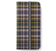 02407 Marion County, Indiana Fashion Tartan  iPhone Wallet/Case/Skin