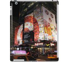 42nd Street, New York City iPad Case/Skin