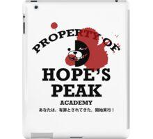 Property of Hope's Peak Academy iPad Case/Skin