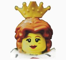 Lego Queen minifigure Kids Tee