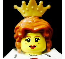 Lego Queen minifigure Photographic Print