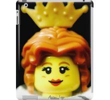 Lego Queen minifigure iPad Case/Skin