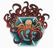 octopus One Piece - Long Sleeve