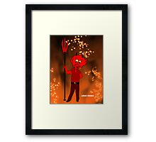 Mommy's Little Devil Framed Print