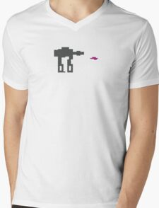 Don't shoot the legs Mens V-Neck T-Shirt
