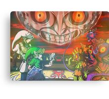 Legend of Zelda Majoras Mask Canvas Print