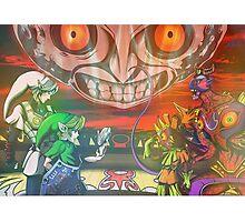 Legend of Zelda Majoras Mask Photographic Print