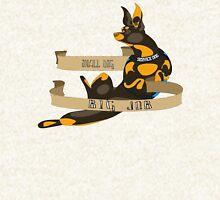"Sassy Service Dogs | ""Small Dog, Big Job"" Chihuahua Zipped Hoodie"