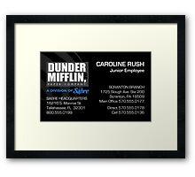 Custom for C Rush Framed Print