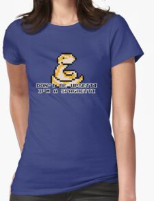 Upsetti Spaghetti - Rosy Boa ver Womens Fitted T-Shirt