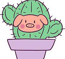 Pig Face Cactus by SaradaBoru