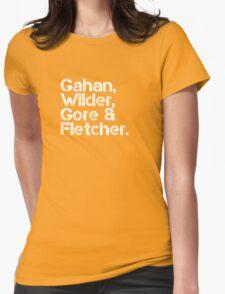 Depeche Mode [line-up] Womens Fitted T-Shirt