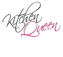 Kitchen Queen Text Logo Design by Style-O-Mat