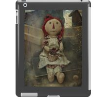 Country Rag Doll iPad Case/Skin