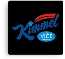Kimmel for Vice Canvas Print