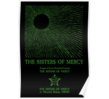 The Sisters Of Mercy - The Worlds End - Temple of Love Poster