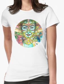 She Thought She Was Small and Trapped, but She Was Not. Womens Fitted T-Shirt