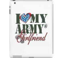 I Love My Army Girlfriend iPad Case/Skin