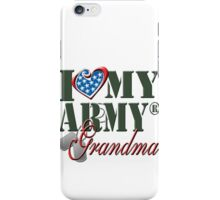 I Love My Army Grandma iPhone Case/Skin