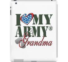 I Love My Army Grandma iPad Case/Skin