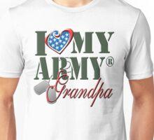 I Love My Army Grandpa Unisex T-Shirt