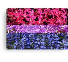 Floral Bi Canvas Print