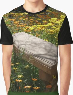 Come Sit Among the Daisies Graphic T-Shirt