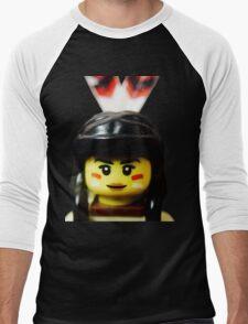Tribal Woman Men's Baseball ¾ T-Shirt