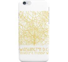 Washington DC Map  iPhone Case/Skin