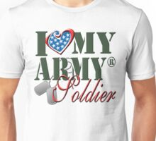 I Love My Army Soldier Unisex T-Shirt