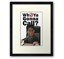 Buffy Angel Puppet Ghost busters Framed Print