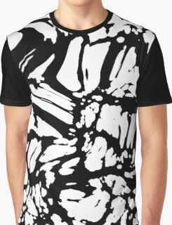Black and white Abstract 2 Graphic T-Shirt