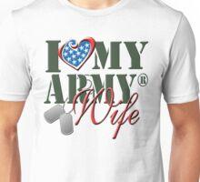 I Love My Army Wife Unisex T-Shirt