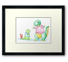 Bartleby, Philip and Rex Framed Print