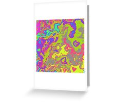 colorful abstract Greeting Card