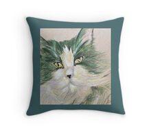 Pop Cat Series 04 Throw Pillow