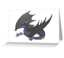 Soundwave Dragon Greeting Card