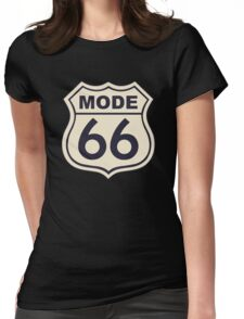 Mode 66 Womens Fitted T-Shirt
