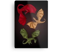 a dance with dragons Metal Print