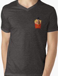 Cara Delevingne Fries Mens V-Neck T-Shirt