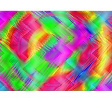 rainbow Abstract Photographic Print