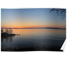 Lake Superior Sunrise Poster