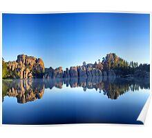 Lake Sylvan Reflection  Poster