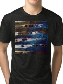 Samhain IIl. Winter Approaching  / abstract painting Tri-blend T-Shirt