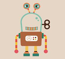 Cute Retro Wind-up Robot Toy Unisex T-Shirt