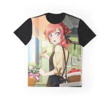 Candy Maid Maki Nishikino (Unidolized) Graphic T-Shirt