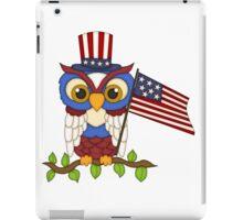 Patriotic Owl iPad Case/Skin