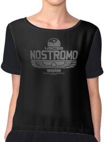 Sumerian Simbol Weyland Industries Nostromo Chiffon Top