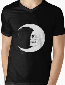 Blood Moon Mens V-Neck T-Shirt